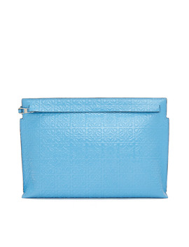T Pouch Repeat       Sky Blue by Loewe
