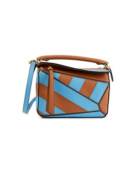 Mini Puzzle Rugby Shoulder Bag by Loewe