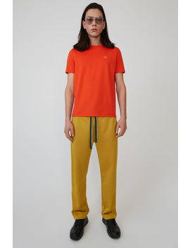 Classic T Shirt Paprika Red by Acne Studios
