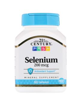 21st Century, Selenium, 200 Mcg, 60 Capsules by 21st Century