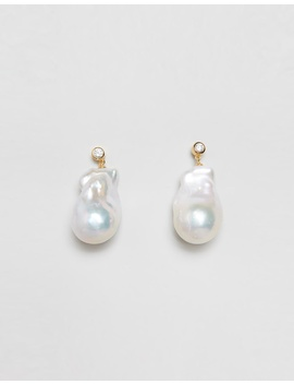 Ceto Baroque Pearl Earrings by Carly Paiker