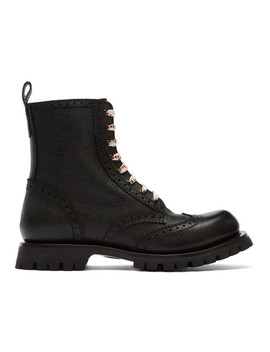 Black New Arley Boots by Gucci