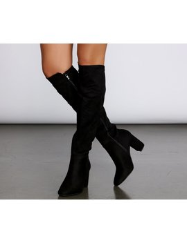 Walk All Over You Suede Boots by Windsor