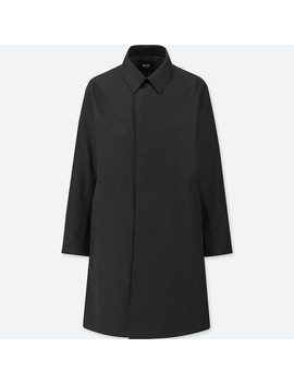 Men Blocktech Single Breasted Coat (3) by Uniqlo
