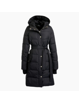 Long Puffer Jacket by J.Crew