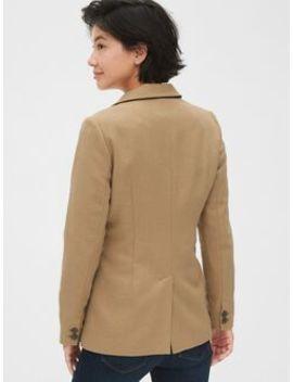 Modern Wool Blend Blazer by Gap