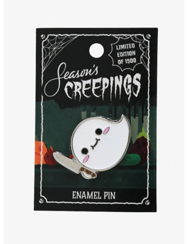 Knife Ghost Enamel Pin by Hot Topic