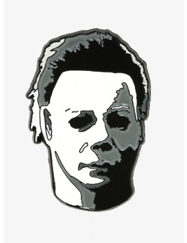 Halloween Michael Myers Mask Enamel Pin by Hot Topic