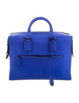 Eaton Tech Leather Briefcase by Harrys Of London