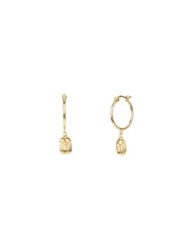 Scarab Earrings by Mejuri