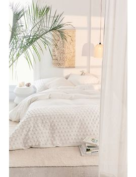 Tufted Dot Duvet Cover by Urban Outfitters