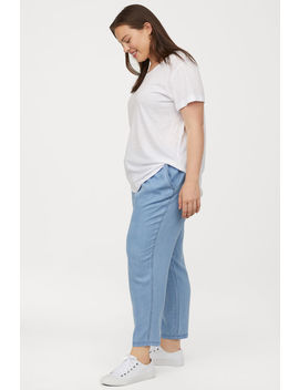 H&M+ Pull On Lyocell Trousers by H&M
