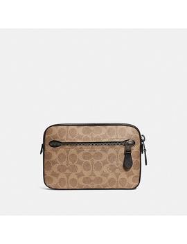Metropolitan Soft Belt Bag In Signature Canvas by Coach