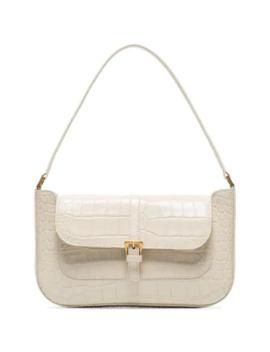 White Miranda Shoulder Bag by By Far