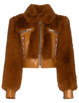 Liam Faux Fur Jacket by De La Vali