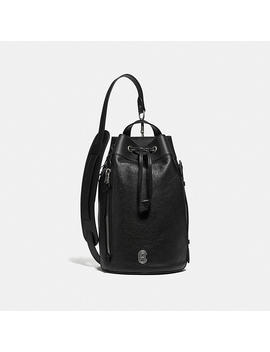 Drawstring Crossbody With Coach Patch by Coach