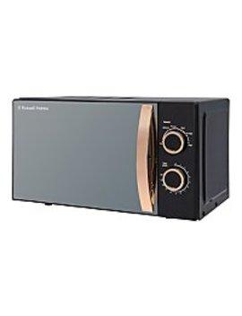 Russell Hobbs Rhm1727 Rg 17 L Rose Gold Manual Microwave by Asda