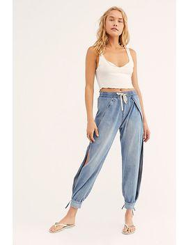 One Teaspoon Split Seam Hareem Jeans by One Teaspoon