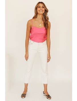 Leading Lights Cami // Hot Pink by Vergegirl