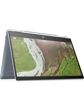 """X360 14 Da0502na 14"""" Intel® Pentium® 2 In 1 Chromebook   White by Currys"""