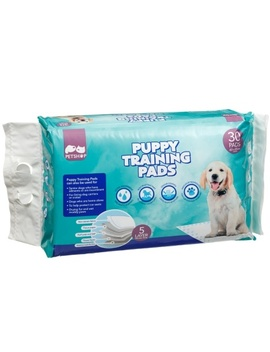 Quilted Puppy Training Pads 30pk 60 X 60cm by B&M