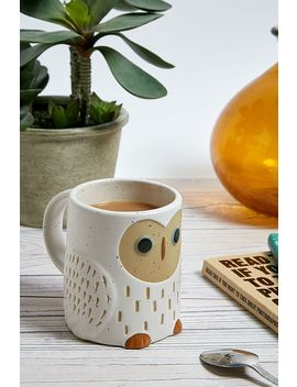 Owl Ceramic Mug by Urban Outfitters