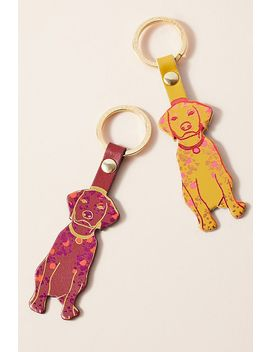 Woof Keychain by Anthropologie