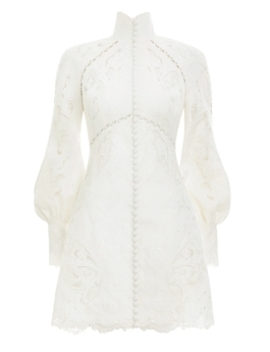 Super Eight Embroidered Mini by Zimmermann