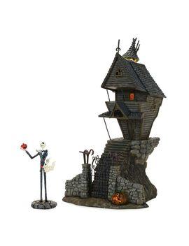 Jack Skellington's House   Tim Burton's The Nightmare Before Christmas Village By Dept. 56 | Shop Disney by Disney