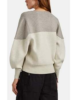 Kedy Logo Intarsia Wool Sweater by Isabel Marant Étoile