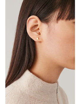 Polyhedron Stud Earrings by Cos