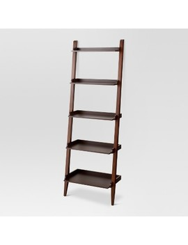 "72"" Carson Leaning Bookcase   Threshold™ by Shop Collections"