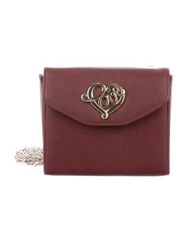 Leather Mini Crossbody Bag by Love Moschino