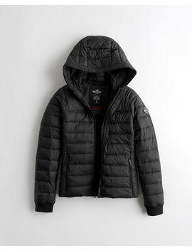 Lightweight Thermore Puffer Jacket by Hollister