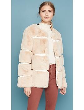 Ariel Faux Fur Coat by Keepsake