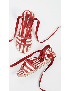 Tie Espadrille Sandals by Zimmermann