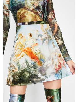 Da Vinci's Demons Mini Skirt by Current Mood