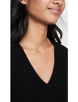 Madalene V Neck Cashmere Sweater by Equipment