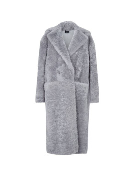 Lamb Fur Oversized Coat by Boon The Shop