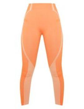 Orange Seamless Sports Legging by Prettylittlething