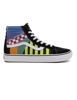 Mash Up Comfy Cush Sk8 Hi Reissue Shoes by Vans