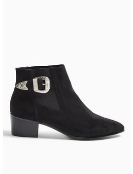 Becci Black Western Chelsea Boots by Miss Selfridge