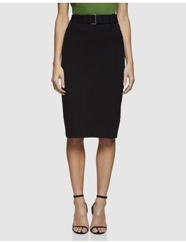 Greenacre Ponti Skirt by Oxford