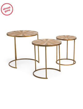 Set Of 3 Nesting Tables by Tj Maxx