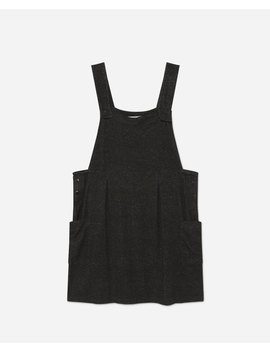 Pinafore Dress With Pockets by Lefties