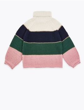 Striped Jumper (3 16 Years) by Marks & Spencer