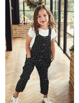 Spot Dungarees (3 16yrs) by Next