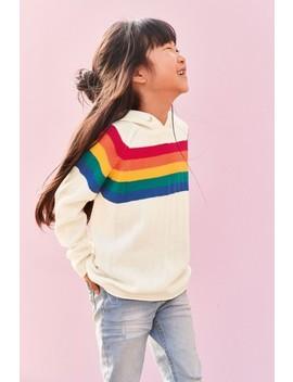 Ecru Rainbow Hoody (3 16yrs) by Next