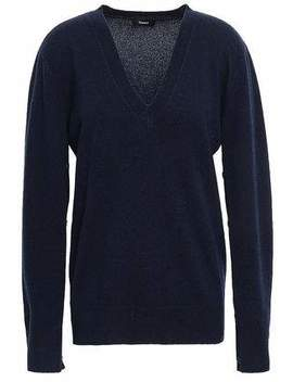 Button Detailed Cashmere Sweater by Theory