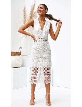 Scarlette Dress   White by Billy J.